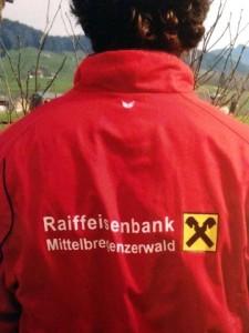 RAIBA Mittelbregenzerwald auf dem Rücken