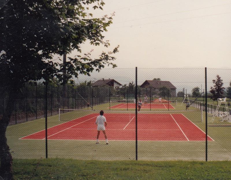 Erstes Tennisspiel